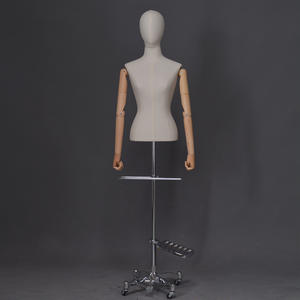 Customized fabric covered mannequins female dummy mannequin (PDM)