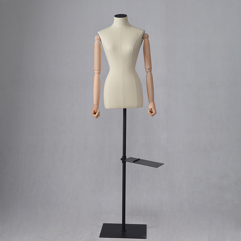 Customized clothing dummy fabric covered mannequins for clothes display (QDM)