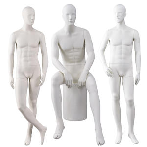 Cheap realistic male mannequin with head adjustable mannequin