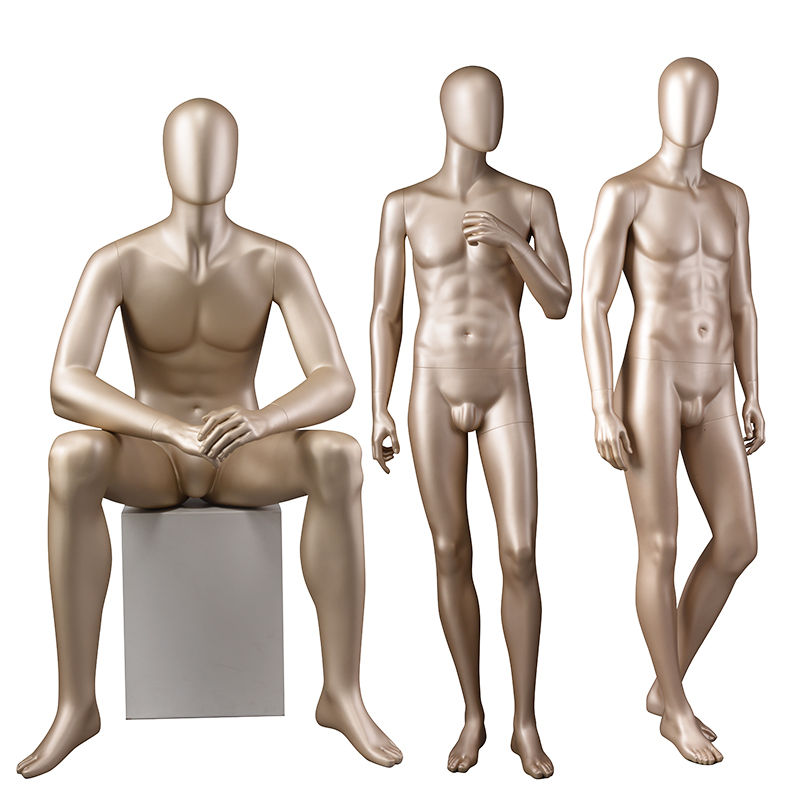 High quality male clothes mannequin fiberglass mannequin models for sale (BTM)