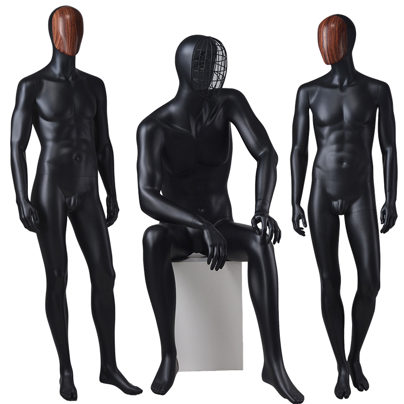 Wholesale muscle male and female mannequins/men suit model male mannequin(MS)