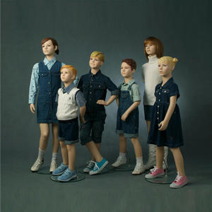 Realistic kids mannequin makeup child mannequins for sale used