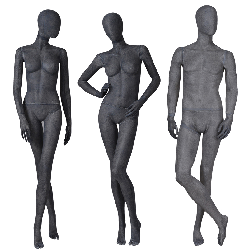 Fashion wholesale male mannequins for sale male and female mannequin for window display(OTM)