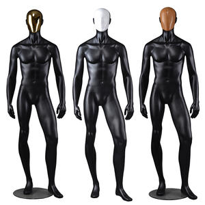 Customized Wholesale Male Mannequins Change Face Mask Fashion Male Mannequins For Clothing Display(RTM)