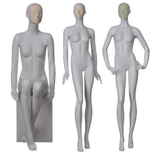 Customized beautiful female mannequins full body change face mask fashion mannequins for clothing display(AF)