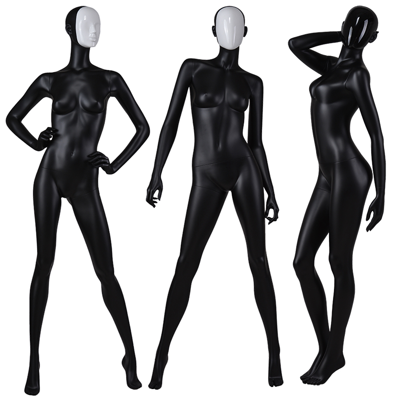 Beautiful female mannequins full body change face mask fashion mannequins for clothing display(BF)