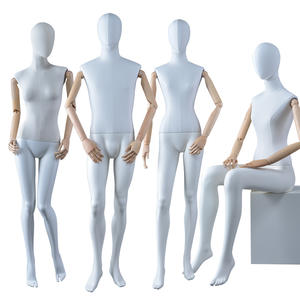 Customized high quality fabric wrapped mannequin male and female dummy for window display(BWM)