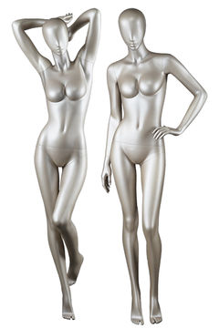 Wholesale women clothing fitting showcase dummy resin female form mannequin for display(DY)