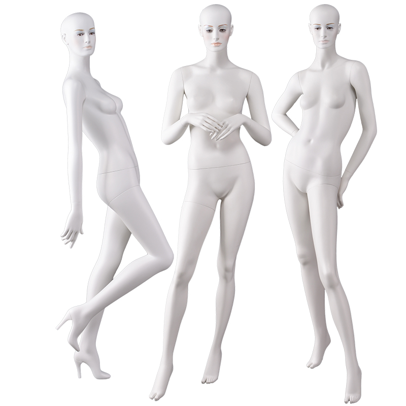 High-quality full-body stand makeup female mannequin clothing display mannequin(AF))