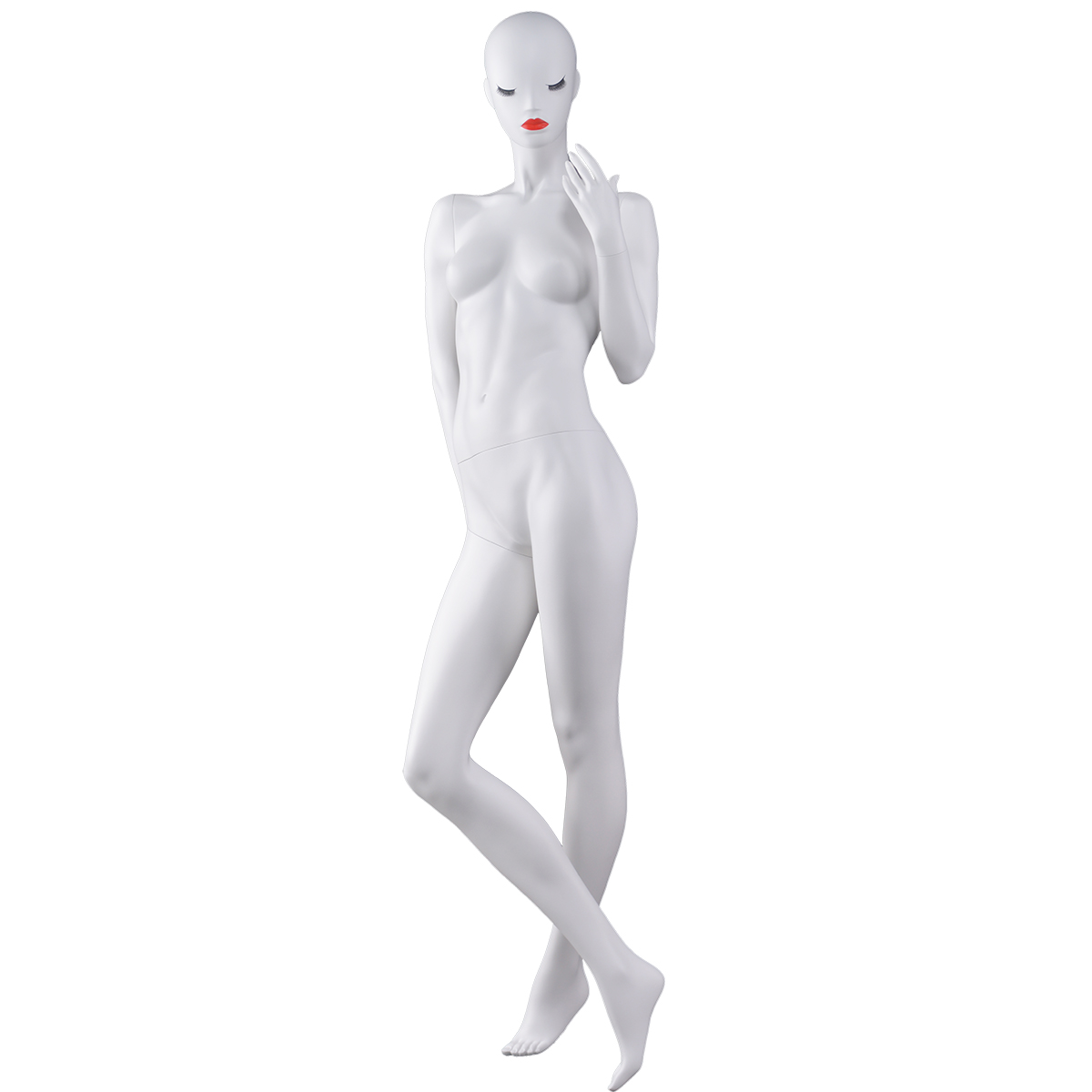 Egg Head Female German Mannequin On Stand Boutique Mannequins For Sale