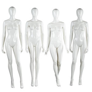 Sexy Full Body Adjustable Mannequin Female White Posing Female Display Mannequins With Adjustable Hand(SQF)