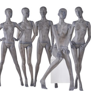 fiber glass abstract female posing mannequin,female mannequin sale