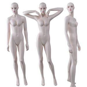 Fashion New High Glossy Fiberglass Female Manikin Sexy Lifelike Mannequin For Sale(NFN))