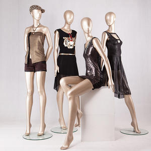 Customized display mannequin abstract female dress display mannequin for window display