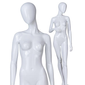 High quality fiberglass mannequin for sale abstract female swimwear display mannequin europe to decorate