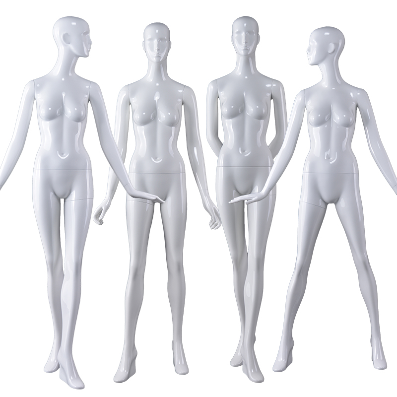 Customized Wholesale Female Mannequin Glossy Fiberglass Mannequin(PUF)