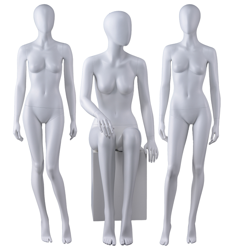 High quality Wholesale Female Mannequin matte Fiberglass Mannequin(AEF)
