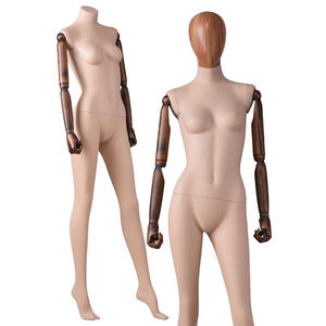 Fashion Designer Full Body Female Clothing Mannequins With Adjustable Arms(AD)