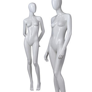 Clothes window display high glossy sexy lifelike display female mannequins for sale(FAM Female mannequin)