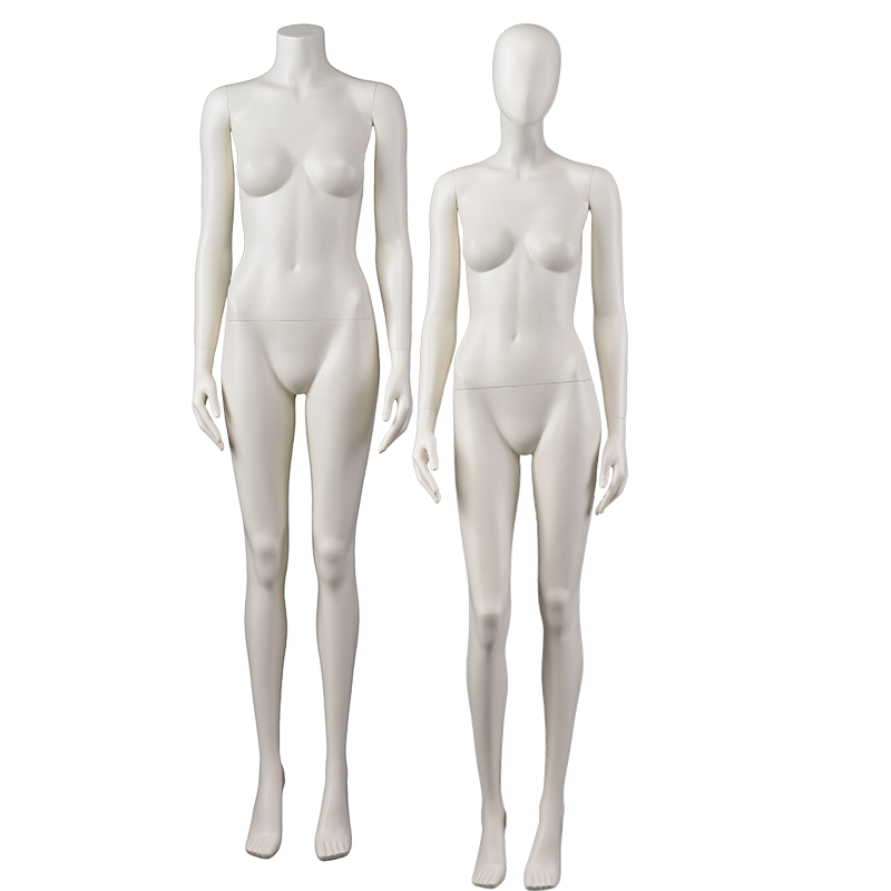 Customized Full Body Matte Women Manikin Cheap Female Mannequins