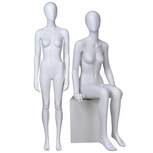 Full body matte women fashion manikins cheap female mannequins for window display(PF)