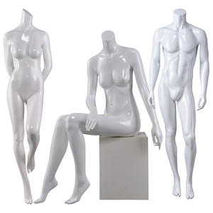 White Female Mannequin Customized Women Fashion Headless Manikins For Sale(ROY)