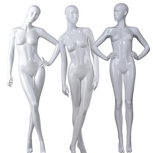 Fashionable Online Full Body Cheap Faceless Sexy Abstract Sitting Female Mannequin Doll For Sale(MNF Series Sitting Female Mannequin)