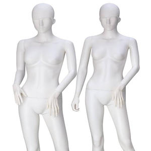 Fashion plastic transparent clear full body mannequin plastic female mannequin(RF series Plastic female mannequin)