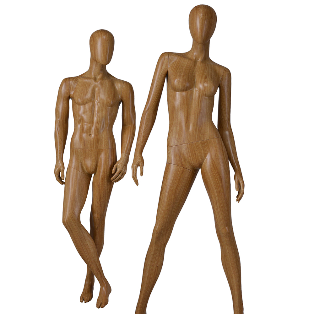 Customized water transfer printing mannequin female and male manequin for window display(MPM)