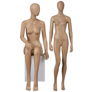 High quality water transfer printing female manequin body for window display(PF)
