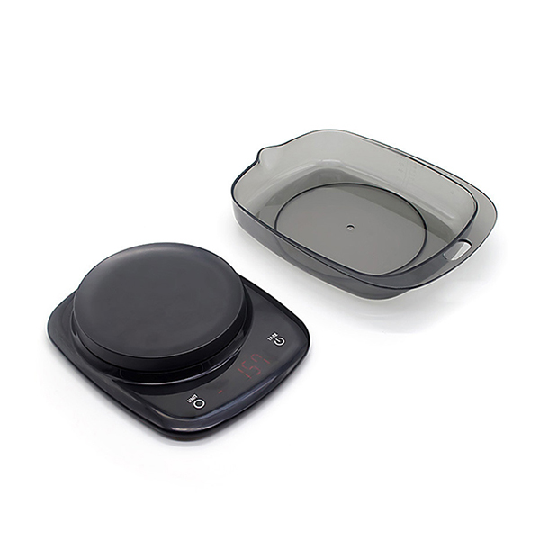 What is the peeling function of kitchen digital weighing scales?