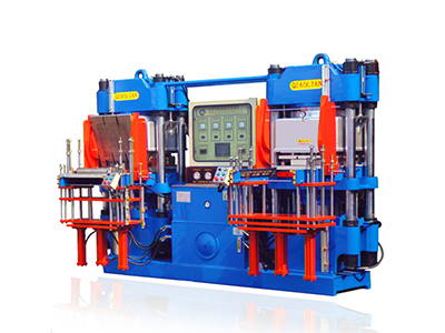 Double workstation 3RT vacuum rubber forming machine-2