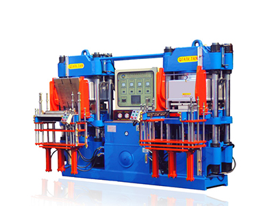 Double workstation 3RT vacuum rubber forming machine-3