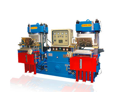Double workstation 4RT vacuum hydraulic press machine