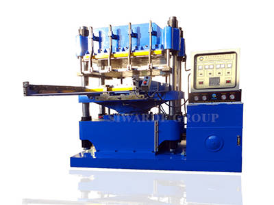 Auto compression molding machine