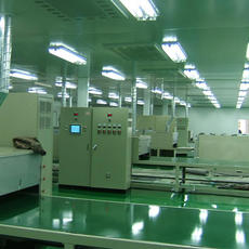 High speed paint curing oven
