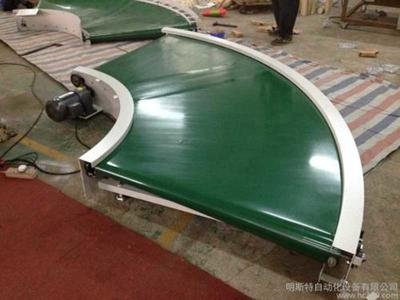 Circulation conveyor for industrial production