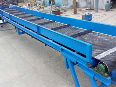 Rubber Belt Conveyor for goods transmission