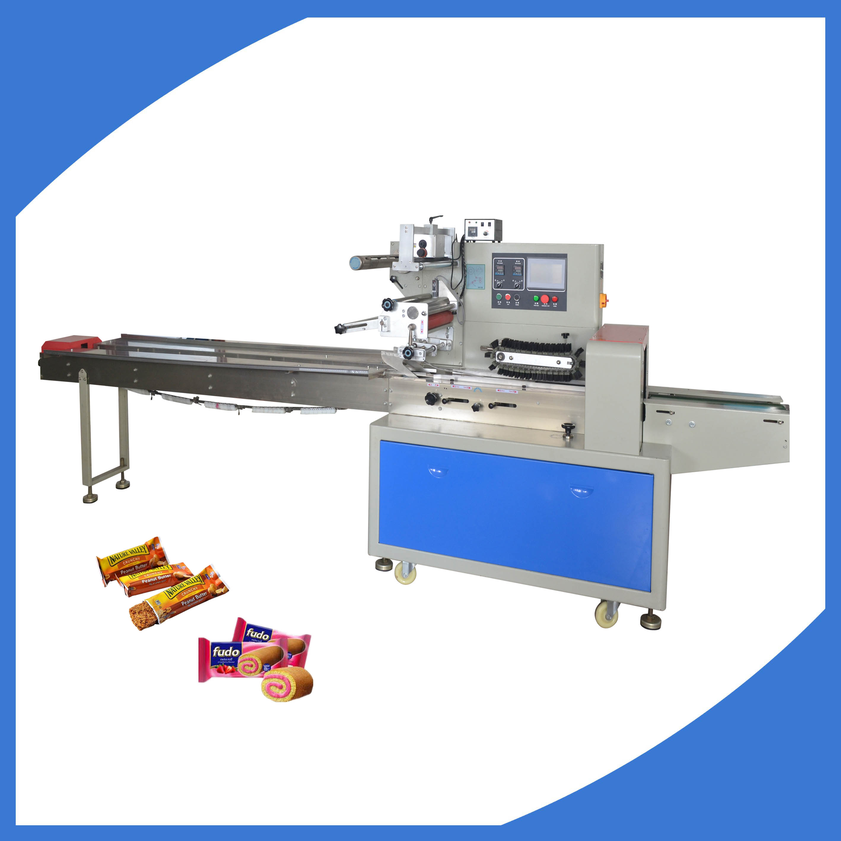 Biscuit cookie bread packaging machine manufacturers