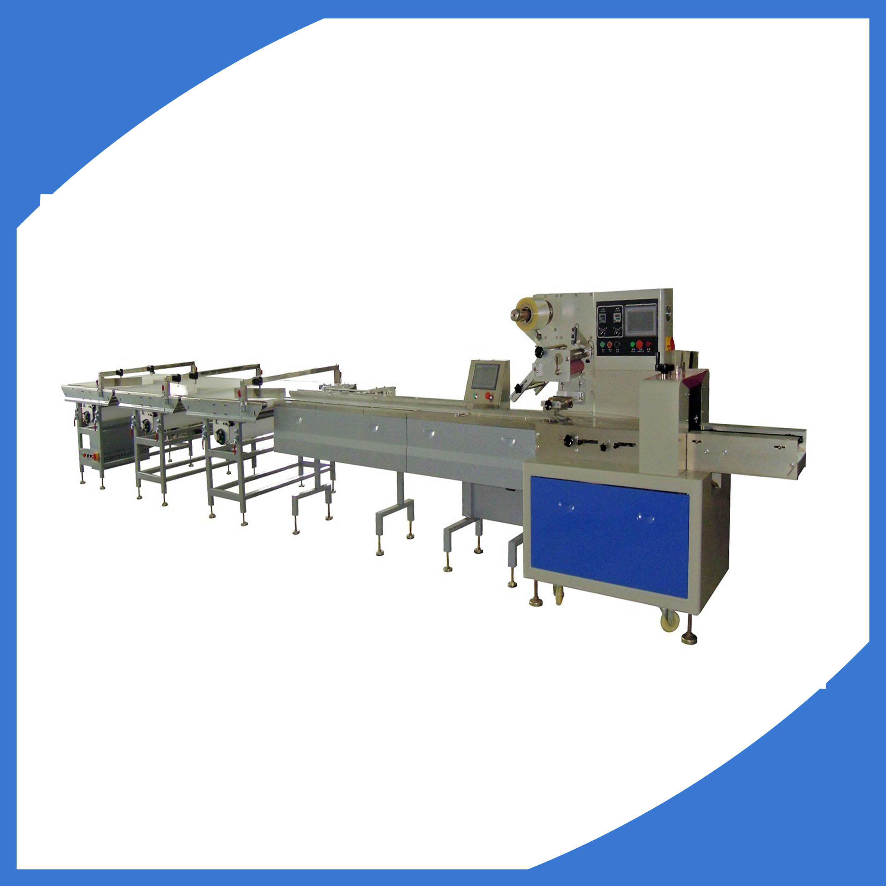 automatic food packaging machine(chocolate bar)