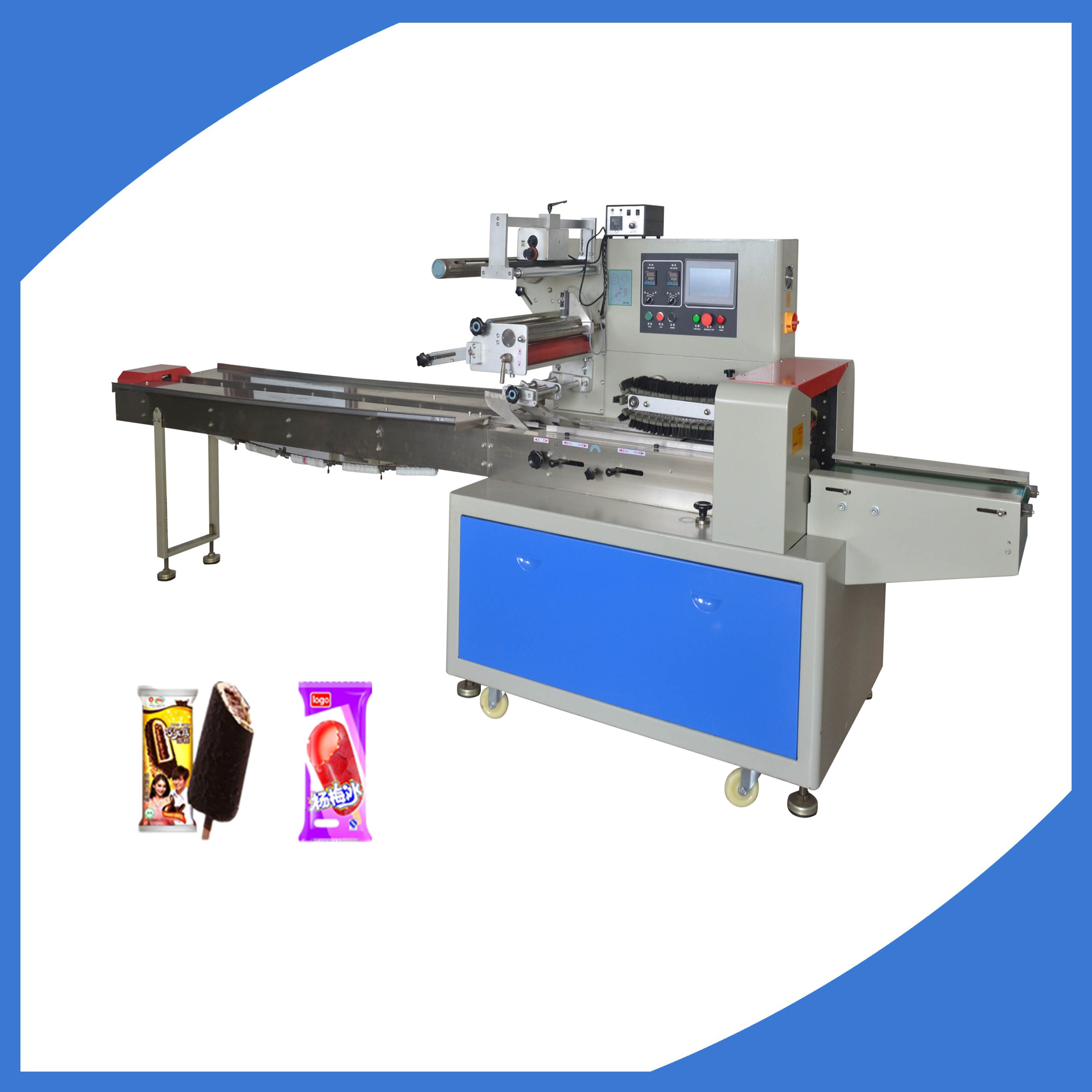 Full automatic Popsicle ice cream packing machine