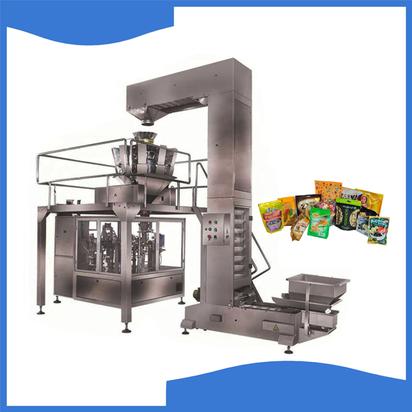 Full automatic vertical form fill and seal machine