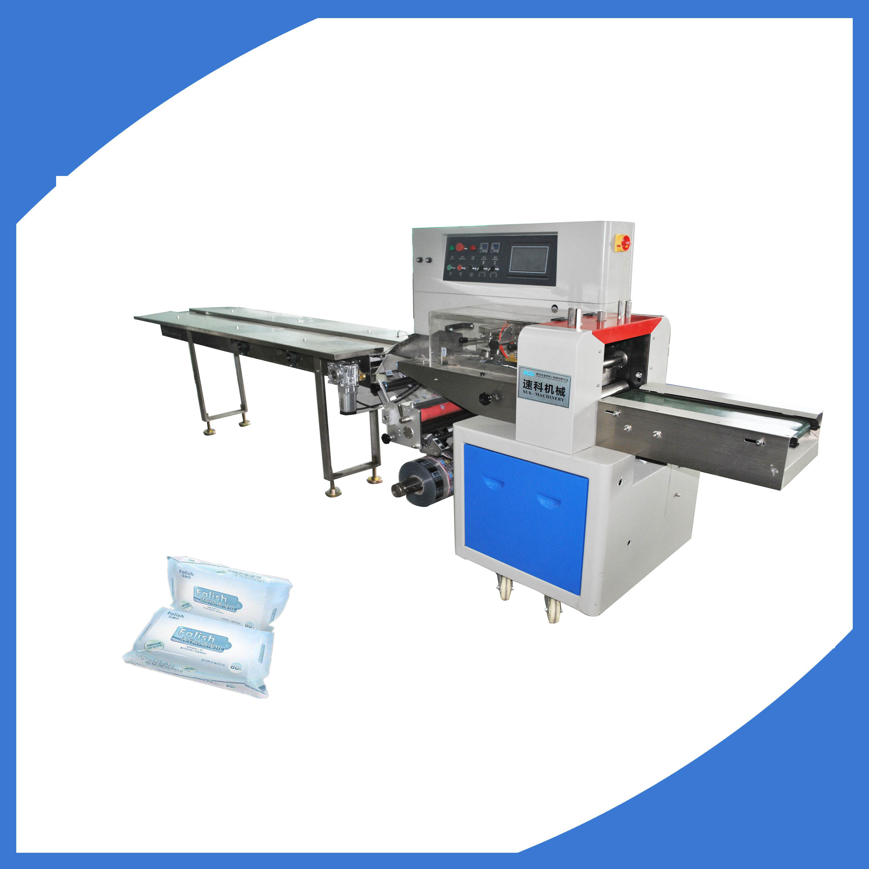 Tissue wet tissue paper towel packing machine manufacturers