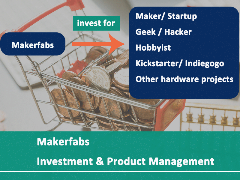 Investment for Makers & Product Management