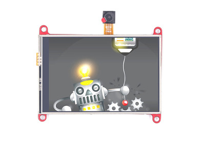 ESP32 3.5 Inch TFT Resistive Touch With Camera