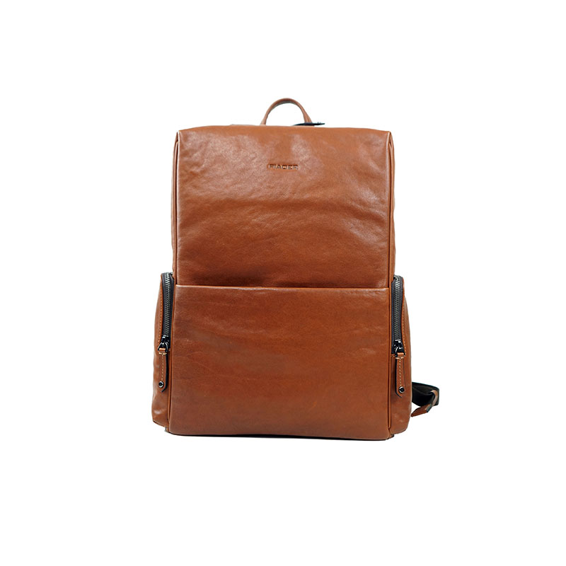 Customized Mens Leather Backpa