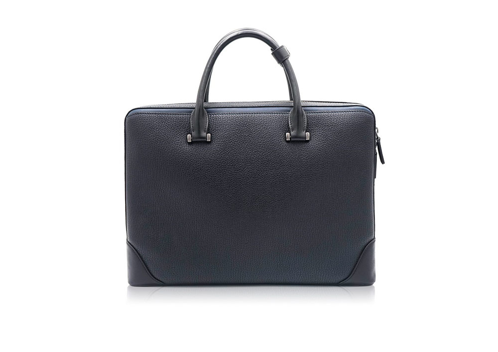 Real Leather Breifcase ODM Laptop Leather Bags for Men 9806-1B