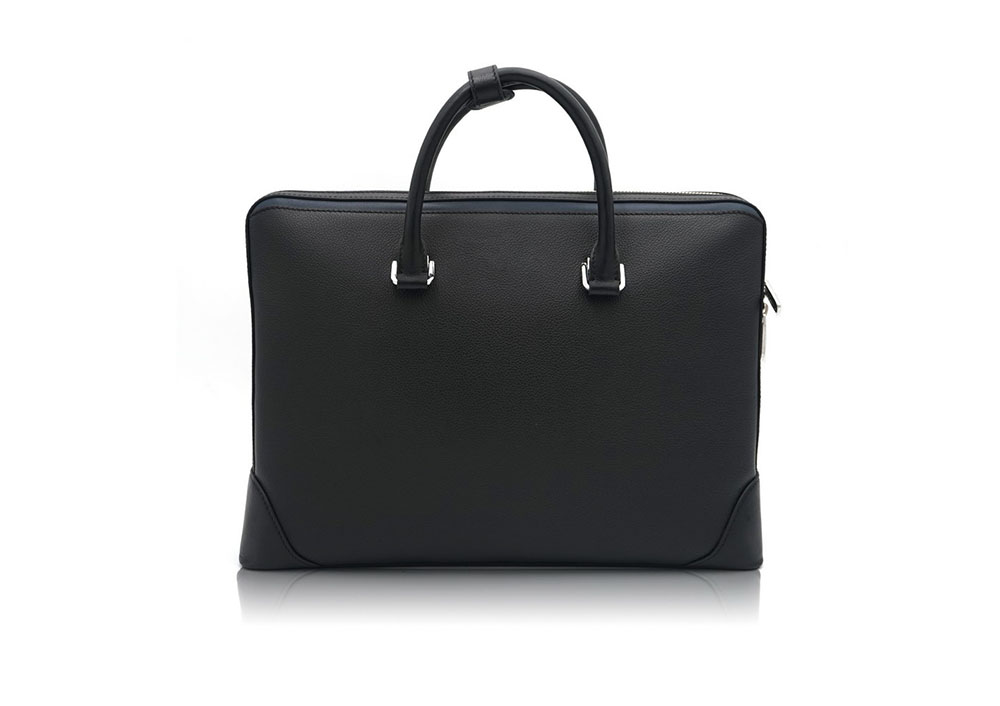Real Leather Breifcase Laptop Leather Bags Manufacture for Men 9867-1