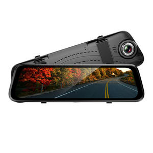 Frameless 3D Glass Heat-resisting Material Rearview Mirror Car DVR--ADC450