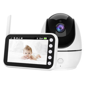 New Baby Monitor Camera 4.5Inch LCD HD720P Wireless Night Vision with Two-way Talk